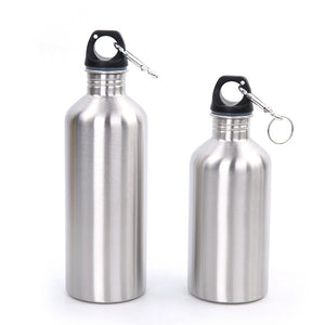 Stainless steel sports water bottle 16/ 25 ounce