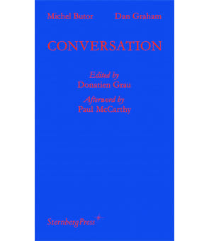 Michel Butor, Dan Graham, Conversation