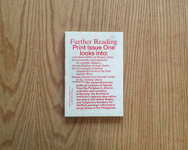 Further Reading, Print No. 1
