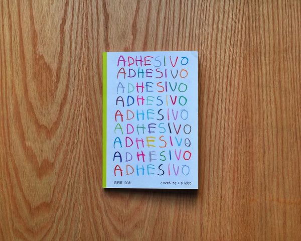 Adhesivo, Issue N. 003
