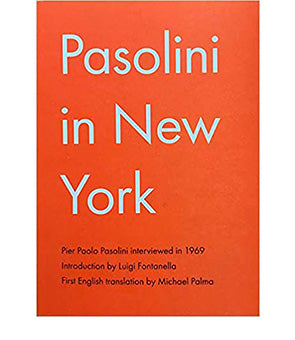 Pasolini in New York