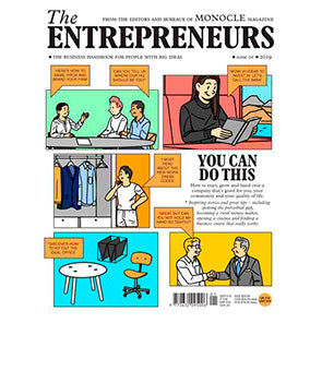The Entrepreneurs, Issue 1