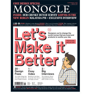 Monocle Issue 118