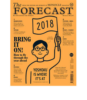 Monocle The Forecast 2018