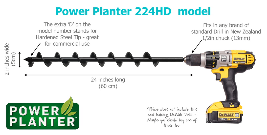 Power Planter 224HD Termite Bait Stations installation