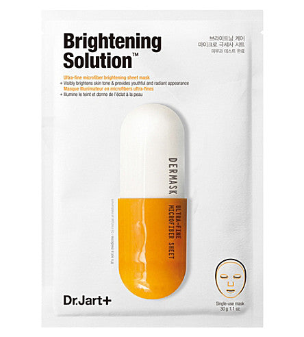 Dermask Brightening Solution Ultra-Fine Microfiber Sheet Mask