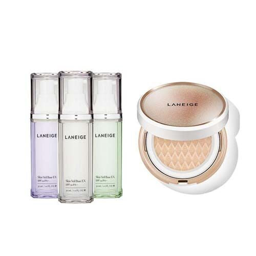 Skin Veil Base EX + BB Cushion Anti-aging