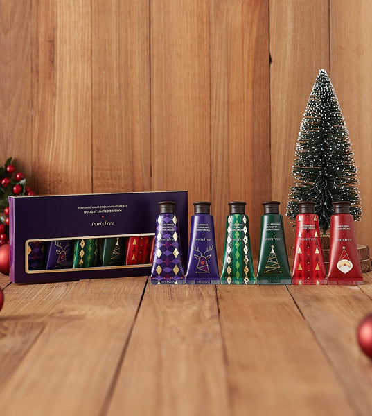 Purfumed Hand Cream Miniature Set of 6 (Holiday Limited Edition)
