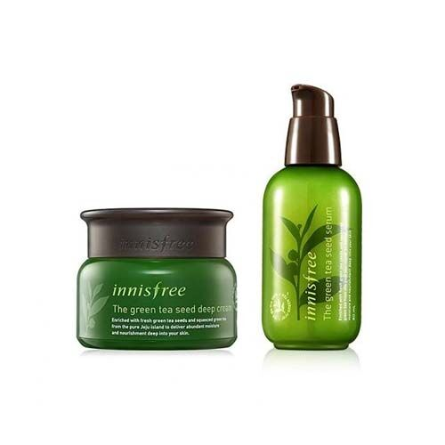 The Green Tea Seed Deep Cream+Serum