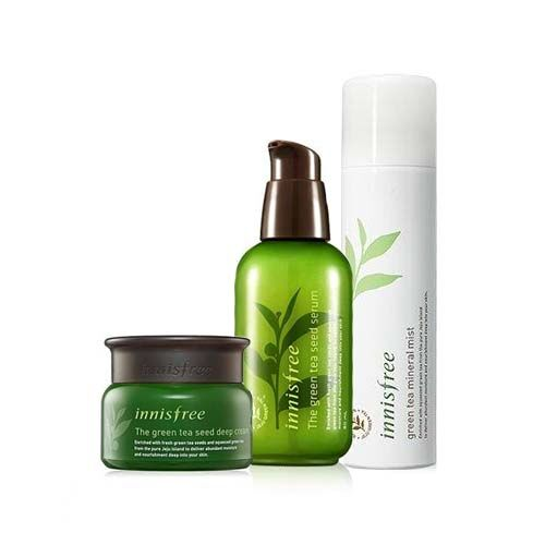The Green Tea Seed Deep Cream + Serum + Mineral Mist