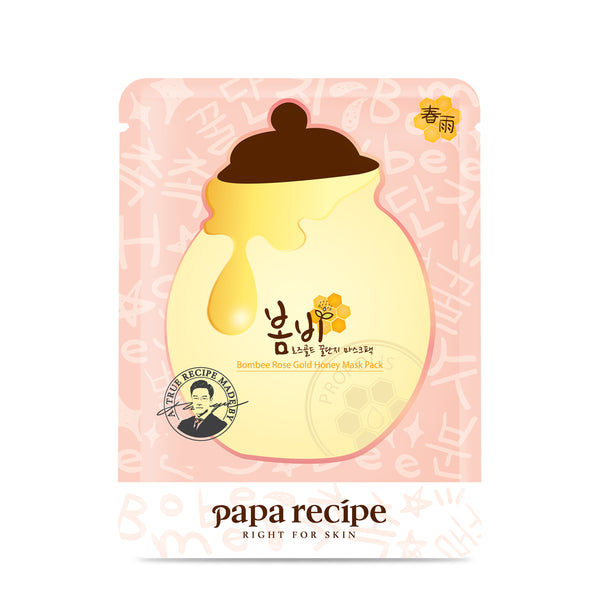 Bombee Rose Gold Honey Mask