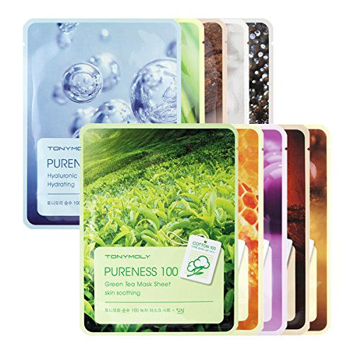 Pureness 100 Sheet Mask 10 Variations