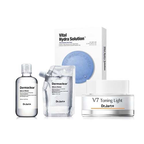 Dermaclear Micro Water+V7 Toning Light+Vital Hydra Solution