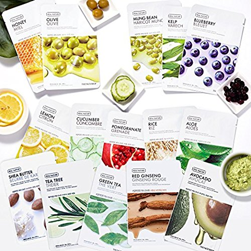Real Nature Variety Sheet Mask 15 Types