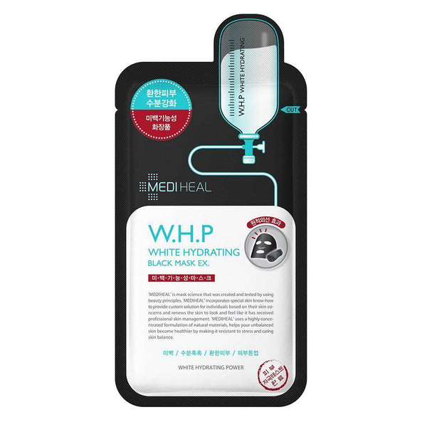 W.H.P White Hydrating Charcoal-Mineral Mask 10pc