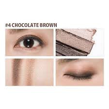 Triple Shadow No.4 Chocolate Brown