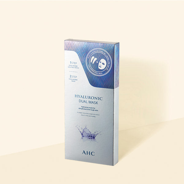 Hyaluronic 2-Step Eye & Face Dual Mask