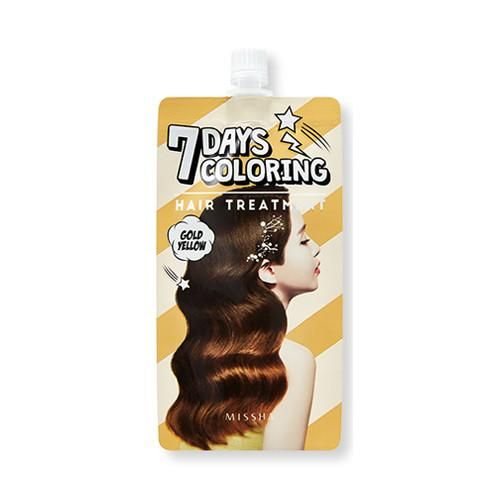 7 Days Colouring Hair Treatment (Gold Yellow)