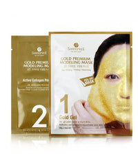 Gold Premium Modeling Mask 5pc