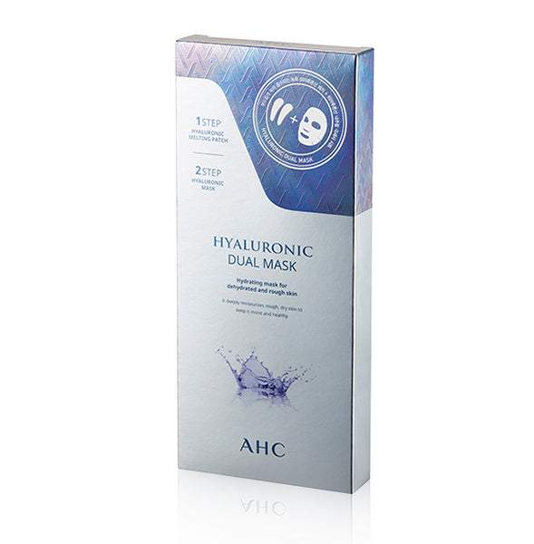 Hyaluronic 2-Step Eye & Face Dual Mask 5pcs