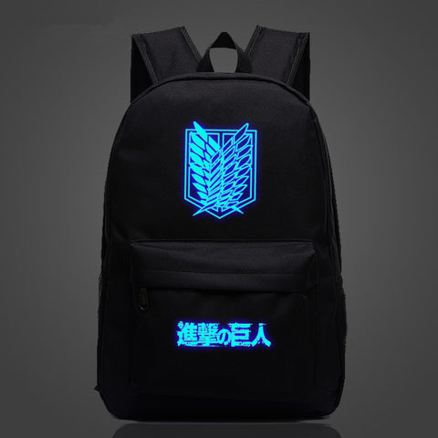 FVIP Attack on Titan Backpack Printing Travel Bag