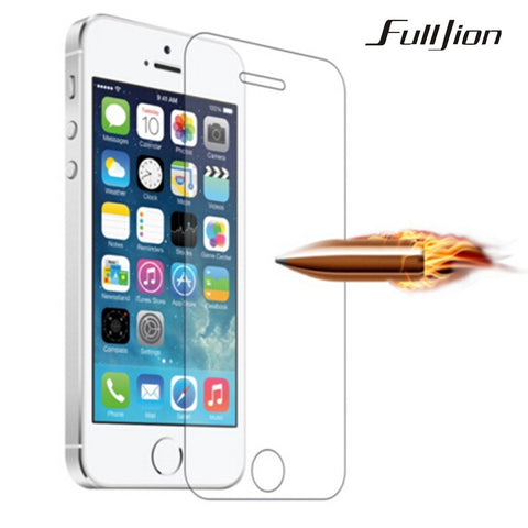 Screen Protector Tempered Glass Film For Apple iphone 6 6S Plus 5 5S 5C SE 4 4S HD Toughened Protective Guard 9H Anti-Scratch - America Geek