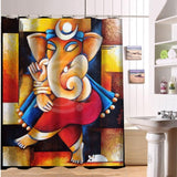 17 options Colorful Elephant print Shower Curtain - America Geek