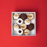 10 Christmas Babycake Gift Box - VEGAN - Cupcake Central