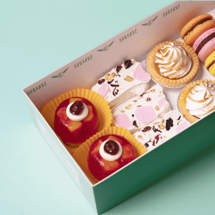High Tea Gift Box (N) - Spring Carnival - Cupcake Central