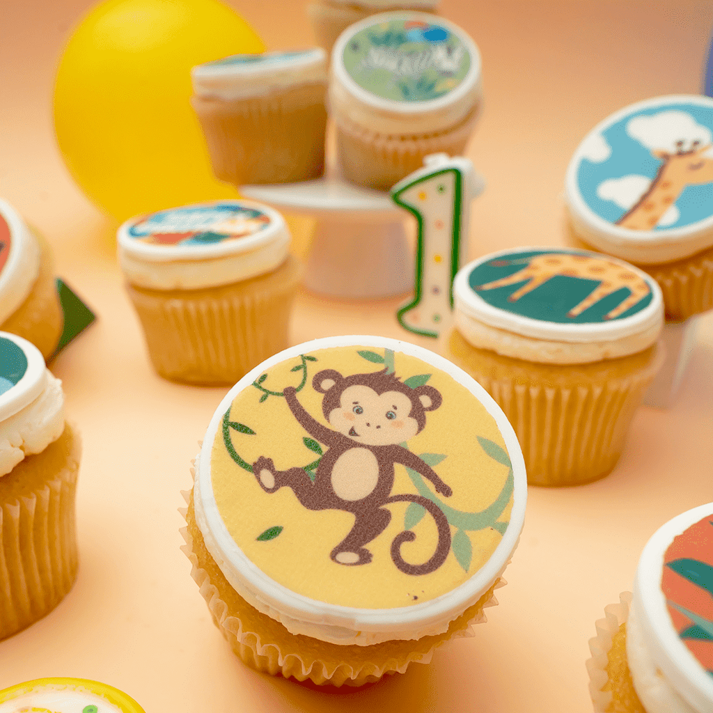 Animal Themed Cupcakes - Gift Box (VEGAN) (N) - Cupcake Central
