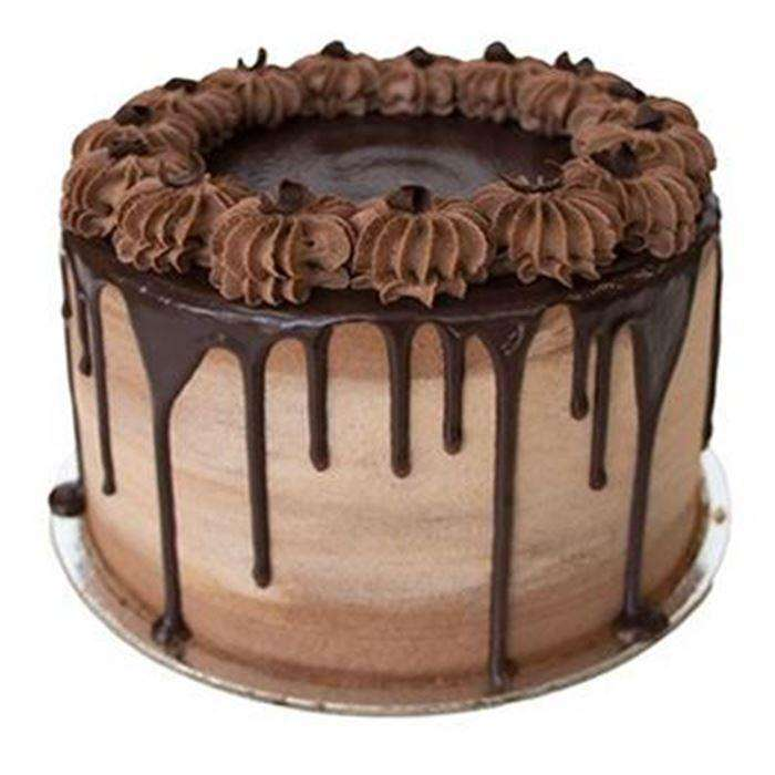 "Devil's Food Chocolate - 8"" Cake -  Cupcake Central"