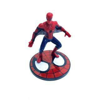 Spiderman - Plastic Figurine Topper 4PC -  Cupcake Central