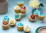 Floral Themed Cupcakes - Gift Box - Cupcake Central