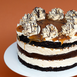 Snickers Naked Cake - (V) (GF) (N) -  Cupcake Central