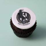 Collingwood Magpies - 12 x Cupcake Gift Box