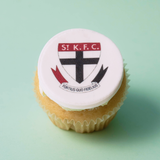 St Kilda Saints - 12 x Cupcake Gift Box -  Cupcake Central
