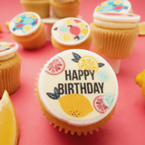 Lemon Squeezy Themed Cupcakes - Gift Box -  Cupcake Central