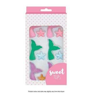 Mermaid Tails & Starfish - Decorating Set -  Cupcake Central