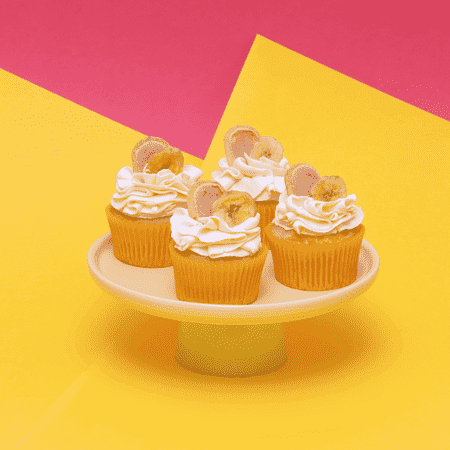 Banana Cream Pie - Cupcake