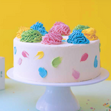 Confetti Birthday Cake - Vegan