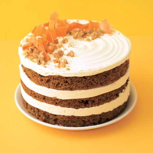 Carrot Naked Cake - Gluten Free (N) -  Cupcake Central