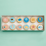 Sea Creatures Themed Cupcakes - Gift Box