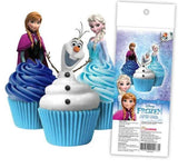 Disney Frozen - Edible cupcake toppers -  Cupcake Central