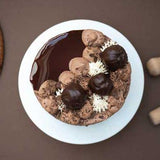 Chocolate Naked Cake - Vegan
