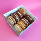 8 Assorted Cookie Sandwich Taster Box -  Cupcake Central