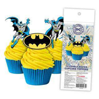 Batman - Edible cupcake toppers -  Cupcake Central