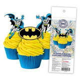 Batman - Edible cupcake toppers