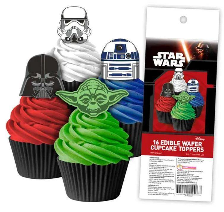 Star Wars - Edible Cupcake Toppers -  Cupcake Central