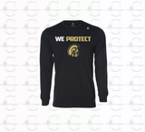 Protect Your School - LS Tee (Black)