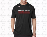 Temp Tech - Team Football Tee (Black)